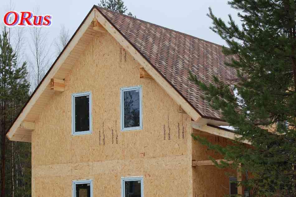 Строительство каркасных домов, коттеджей и не дорогих дачных домиков